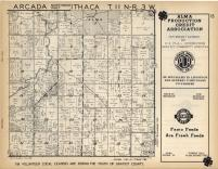 Arcada, Ithaca T11N-R3W, Gratiot County 1955